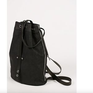 New Free People Joni Leather Backpack MSRP 198$